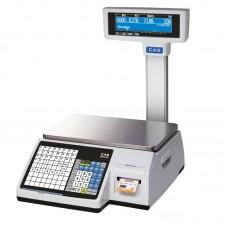 Весы торговые CAS CL3000 с печатью этикеток
