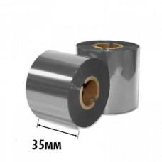 Риббон Золото/Серебро RESIN RTxU 35х300х25 (ширина х длина х втулка) OUT/IN