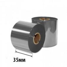Риббон Золото/Серебро RESIN RTxU 35х74х12 (ширина х длина х втулка) OUT/IN