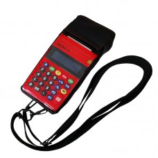 КСА ТИТАН-А «FIRE» красный, встроенное СКНО, чехол в комплекте