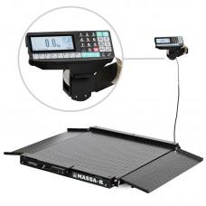Весы низкопрофильные с печатью этикеток МАССА-К 4D-LA-2_RP