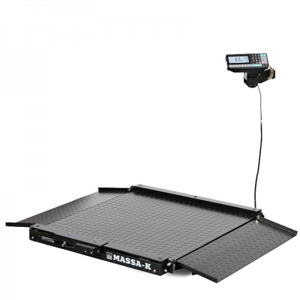 Весы низкопрофильные с печатью этикеток МАССА-К 4D-LA-4_RP