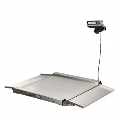 Весы низкопрофильные с печатью этикеток МАССА-К 4D-LA.S-2_RP
