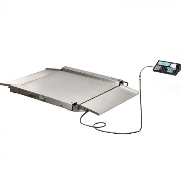 Весы низкопрофильные с печатью чеков МАССА-К 4D-LA.S-4_RC