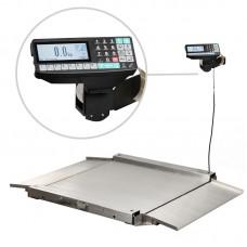 Весы низкопрофильные с печатью этикеток МАССА-К 4D-LA.S-4_RP