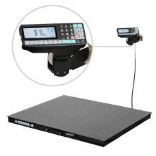 Весы платформенные с печатью этикеток МАССА-К 4D-P-2_RP