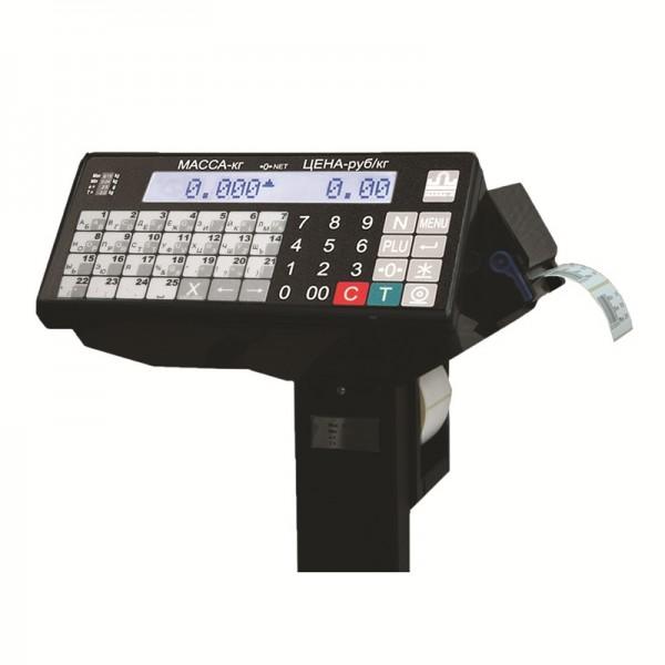 Весовой терминал с печатью этикеток P/TB