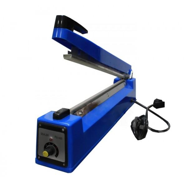 Ручной запайщик пакетов FS-400C (метал., 3мм/400мм, с ножом)