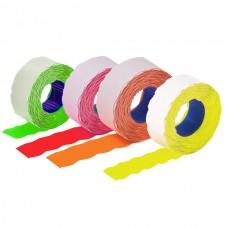 Этикет-лента 26х12 волна, цветная