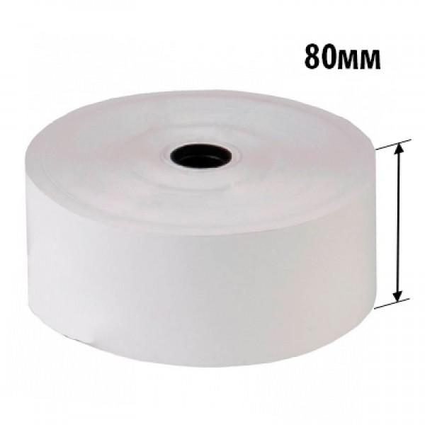 Чековая термолента 80*18*80 (ширина* втулка* длина) 48гр/м2