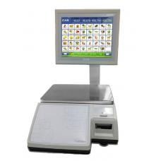 Весы торговые с печатью этикеток CL7000-S