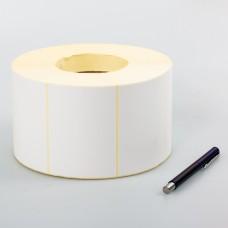 Самоклеющаяся термотрансферная этикетка Полуглянец (Vellum) 100x50мм (450 шт)