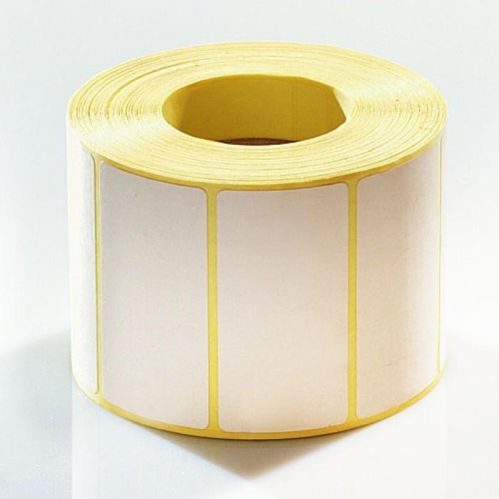 этикет лента самоклеющаяся в рулонах прямоугольная