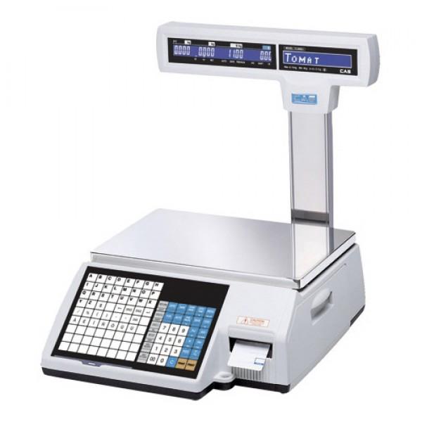 Весы торговые с печатью этикеток CL5000J