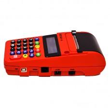 Кассовый аппарат ТИТАН-А «FIRE» красный, встроенное СКНО, чехол в комплекте
