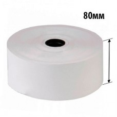 Чековая термолента 80*25*120D (ширина*втулка*диаметр), 80 гр/м2